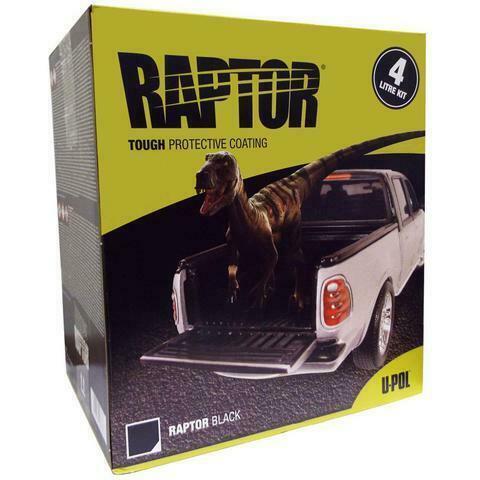 RAPTOR KIT BLACK 4LT