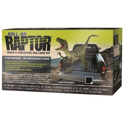 RAPTOR ROLL-ON BLACK 2LT KIT